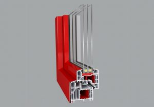 Ideal 8000 Aluskin - Kunststoff Alu Fenster